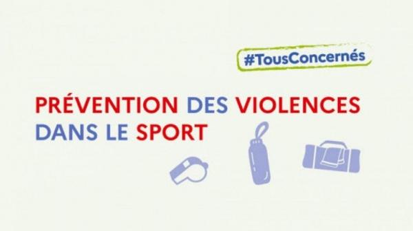 PRÉVENTION DES VIOLENCES DANS LE SPORT